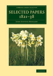 Selected Papers, 1821–38