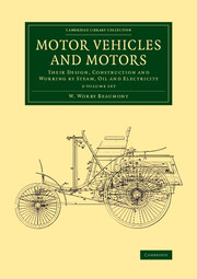 Motor Vehicles and Motors