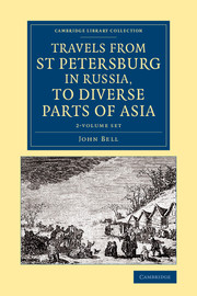 Travels from St Petersburg in Russia, to Diverse Parts of Asia