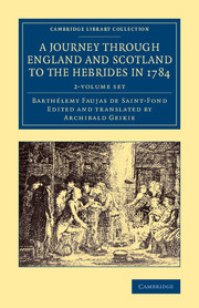 A Journey through England and Scotland to the Hebrides in 1784