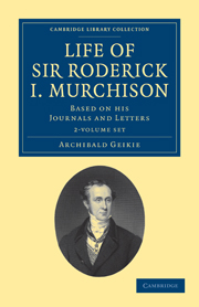Life of Sir Roderick I. Murchison