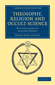 Theosophy, Religion and Occult Science