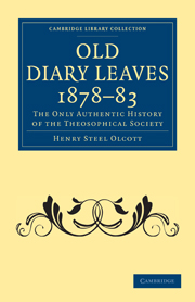 Old Diary Leaves 1878–83