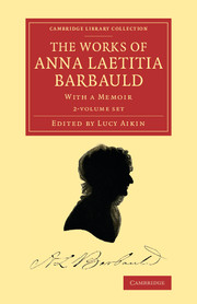 The Works of Anna Laetitia Barbauld