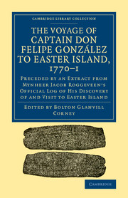 The Voyage of Captain Don Felipe González to Easter Island, 1770–1