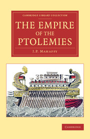 The Empire of the Ptolemies