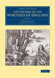 The History of the Worthies of England