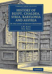 History of Egypt, Chaldea, Syria, Babylonia and Assyria