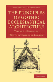 Companion to the Principles of Gothic Ecclesiastical Architecture