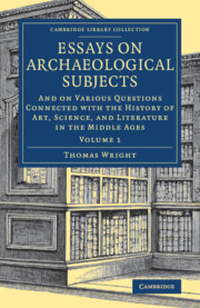 Essays on Archaeological Subjects