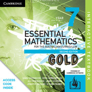 Essential Mathematics Gold for the Australian Curriculum Year 7 Digital (Card)