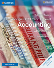 Cambridge IGCSE® and O Level Accounting Coursebook with Cambridge Elevate Enhanced Edition (2 Years)