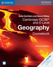 Cambridge IGCSE™ and O Level Geography Coursebook with CD-ROM