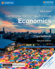 Cambridge IGCSE® and O Level Economics Coursebook with Cambridge Elevate Enhanced Edition (2 Years)