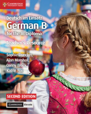 Deutsch im Einsatz Teacher's Resource with Cambridge Elevate