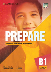 Prepare Level 4 Student's Book with Online Workbook