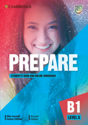 Prepare Level 5 Student's Book with Online Workbook