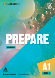 Prepare Level 1 Workbook with Audio Download