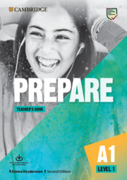 Prepare Level 1 Teacher's Book with Downloadable Resource Pack