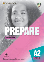 Prepare Level 2 Teacher's Book with Downloadable Resource Pack