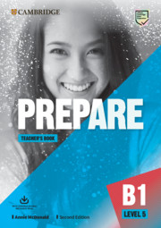 Prepare Level 5 Teacher's Book with Downloadable Resource Pack