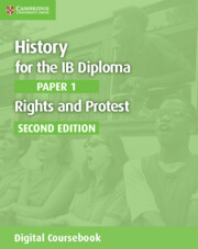 History for the IB Diploma Paper 1 Rights and Protest Cambridge Elevate Edition (2 Years)