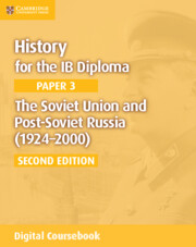The Soviet Union and Post-Soviet Russia (1924–2000) Cambridge Elevate Edition (2 Years)