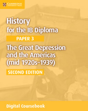 The Great Depression and the Americas (mid 1920s–1939) Cambridge Elevate Edition (2 Years)