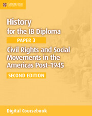 Civil Rights and Social Movements in the Americas Post-1945 Cambridge Elevate Edition (2 Years)