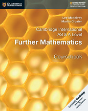 Cambridge International AS & A Level Further Mathematics