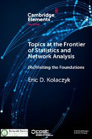 Topics at the Frontier of Statistics and Network Analysis