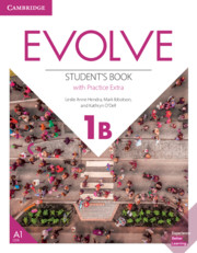 Evolve Level 1B Student's Book with Practice Extra