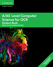 A/AS Level Computer Science for OCR Student Book with Cambridge Elevate Enhanced Edition (2 Years)