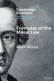 Formulas of the Moral Law