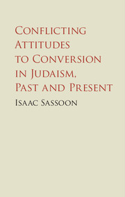 Conflicting Attitudes to Conversion in Judaism, Past and Present