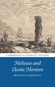 Melissus and Eleatic Monism