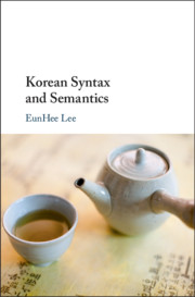 Korean Syntax and Semantics
