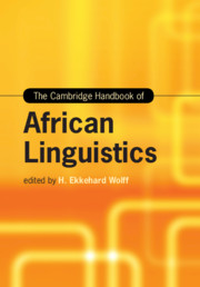 The Cambridge Handbook of African Linguistics