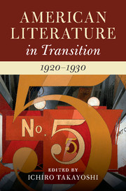 American Literature in Transition, 1920–1930
