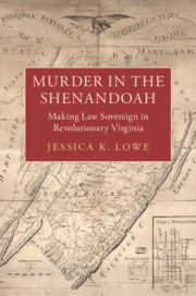 Murder in the Shenandoah