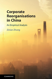 Corporate Reorganisations in China