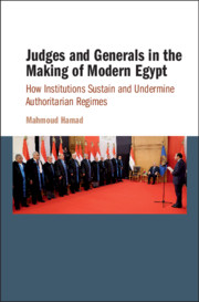 Judges and Generals in the Making of Modern Egypt