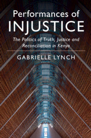Performances of Injustice