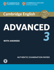 Cambridge English Advanced 3 Student's Book with Answers with Audio