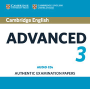 Cambridge English Advanced 3 Audio CDs