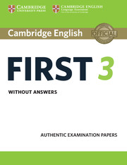 Cambridge English First 3