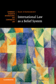 International Law as a Belief System