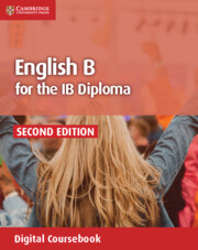 English B for the IB Diploma English B Coursebook Cambridge Elevate Edition (2 Years)