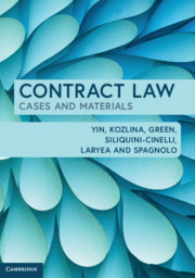 Contract Law Cases & Material