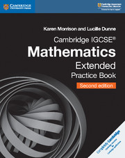 Cambridge IGCSE™ Mathematics Extended Practice Book